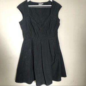 Eshakti Be a Sweetheart Black cotton dress